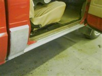 Rebuilt rocker panels